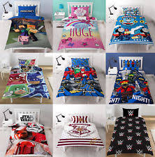 Minecraft Twin Bedding by Disney Children U0027s Tv Bedding Sets U0026 Duvet Covers Ebay