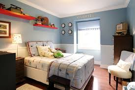 Beautiful Crown Stencil In Contemporary Toronto With Boys Room Paint Ideas Next To Teenage Bedroom For Alongside Blue And Chair Rail