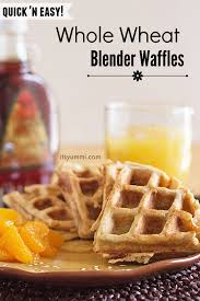 Bisquick Pumpkin Puree Waffles by Whole Wheat Protein Blender Waffles Its Yummi