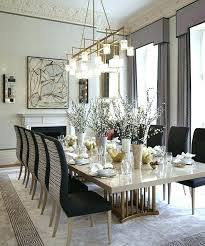 Size Of Chandelier For Dining Room The Best Rectangular Ideas On
