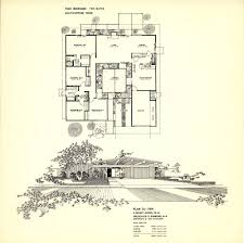 100 Eichler Home Plans Floor Fairhills SoCalSoCal