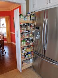 Pantry Cabinet Organization Ideas by Kitchen Pull Out Spice Rack Pots And Pans Storage Ideas