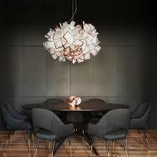 nach die moderne kronleuchter nordic stil kreative persönlichkeit len esszimmer lounge kunst beleuchtung einfache porto freies