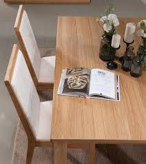 chaise en ch ne massif chaise de table en chêne massif et assise en tissu collection porto