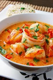 Sweet Spicy Tomato Shrimp Soup Healthy Seafood Family Dinner Recipe