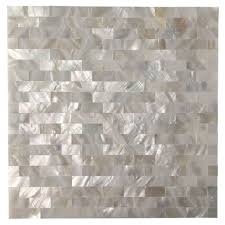 Smart Tiles Mosaik Multi by Peel And Stick Mother Of Pearl Shell Mosaic Tile For Kitchen
