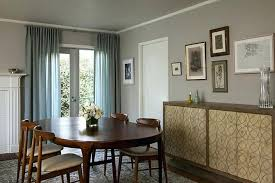 Modern Curtains For Dining Room And