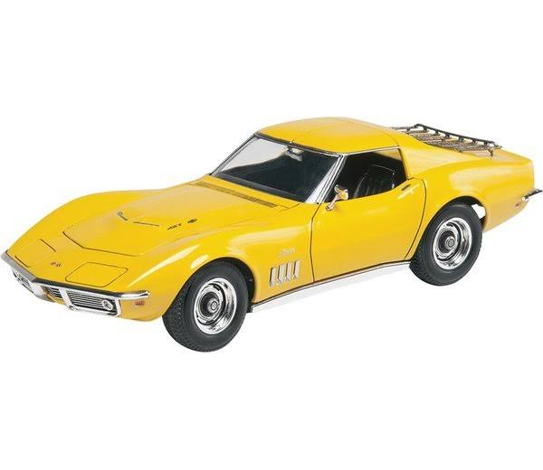 Revell '69 Corvette Coupe Yenko Plastic Model Kit - 1/25 Scale