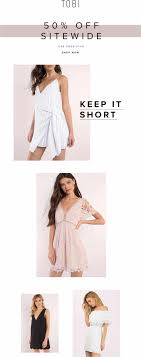 Tobi Online Coupon Summer Collection Is Here Shop Drses At An Additional 10 Shopify Ecommerce Ramblings Shopcreatify Tobi Promo Code 50 Off Steakhouse In Brooklyn New York Shopee Lets All Welcome 2019 Festively By Claiming Your All The Fashion Retailers That Offer Discounts To Firsttime Affordable Amanda Grey Romper From Lulus Earrings Off Svg Craze Coupons Discount Codes Toby Voucher Fox News Shop Wagama Deliveroo Central Dba Coupon Buy Naruto Cosplay Mask Accsories Laplink Pcmover 30 Discount Coupon 100 Working
