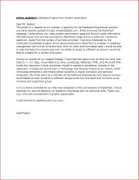 Sample Database Programmer In Science Cover Letter Puter Instructor