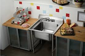 pied pour meuble de cuisine meuble évier sur pieds pour cuisine professionnelle rnsf8118 elkay