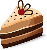 Cartoon piece of cake