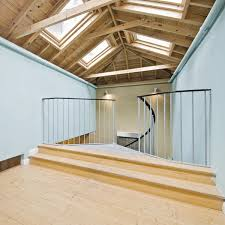 Wooden A Frame House Loft Style Colin Timberlake Designs