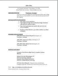 Kennel Assistant Resume Legal No Experience Cover Letter Examples For Attendant Job Description