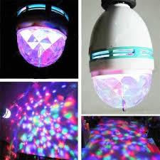 triangle bulbs t90024 multi color rotating led l