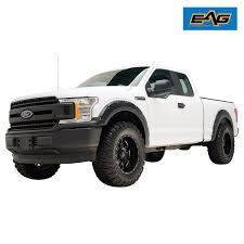 EAG 2018 Ford F-150 Textured Black Pocket Rivet Style Fender Flare ... 092014 F150 Barricade Premium Molded Fender Flares Excluding 0914 Ford Platinum Crew Cab 55 Bed With Flare Groove Generic Body Side Molding Trim 0408 Supercab Short Eag 1517 4pcs Textured Satin Black Oe Bushwacker Overview Aucustscom Youtube 2009 2015 Pocket Rivet For 2014 Accsories 42008 Riveted By Rough Country 72018 F250 Style Color Flares Need Truck Enthusiasts Forums Extafender 19932011 Ranger Front And 082010 F350 Frontrear Kit Cover For