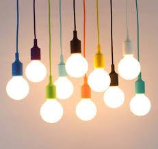 Art Deco Lampu Pendant Modern Lights 13 Warna DIY Menggantung Liontin Pencahayaan 1 M Panjang Kabel Di Dari