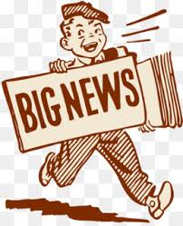 Breaking News The Second Window Press Release Clip Art