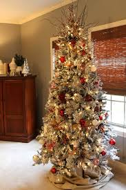 Flocking Powder For Christmas Trees by Our Joy His Glory O Flocked Christmas Tree Holiday Ideas