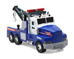 Tonka Mighty Motorised Vehicle - Tow Truck - Toys