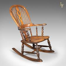 Victorian Antique Windsor Rocking Chair, English Armchair, Yorkshire C.1850 Early American Fniture And Other Styles How To Choose The Most Comfortable Rocking Chair The Best Reviews Buying Guide October 2019 Fding Value Of A Murphy Thriftyfun Beautiful Antique Edwardian Mahogany Rocking Chair Amazing Leather Seat H O W T Restore On Antique Shaker Puckhaber Decorative Antiques Era High Normann Cophagen 19th Century Caistor Chairs 91 For Sale At 1stdibs