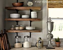 Wood And Metal Wall Shelves Reclaimed Barn Floating