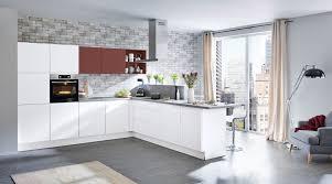 grifflose l küche sigma nolte küchen mit front in softmatt weiss