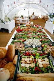 Amazing And Inspiring Presentation Of Food At Wedding Menu