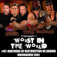 Halloween Havoc 1998 by The Wrestling Section Worst In The World Brothers Of Destruction