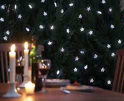 solar powered string lights 30 led stars garden patio atrium