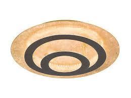 runde led deckenleuchte gold kreise deckenle für