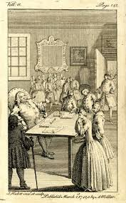 Anonymous Fanny And Joseph Andrews Standing Before The Justice Of Peace Falsely Accused Larceny From Henry Fielding 1742