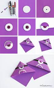 How To Make A Purple Minion Bookmark Part 2 Of