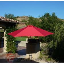 Patio Umbrella Canopy Replacement 6 Ribs 8ft by Formosa Covers 9ft Umbrella Replacement Canopy 6 Ribs In Red