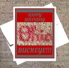 Ohio State Pumpkin Carving Patterns by Ohio State Card Funny Birthday Card Buckeye Card Osu Card
