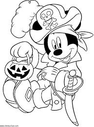 Free Disney Halloween Coloring Sheets