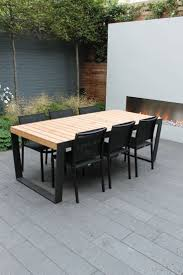 Modern Garden Furniture Rustic Outdoor Dining Chairs HQFOOLH