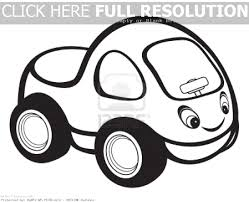 Laptop Black And White Car Clipart 3557 16