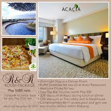 Acacia Hotel Manila Last Day To Enter Win A Free Show On Macna And Fathers Expedia Promotion Free 50 Hotel Coupon Valid Until 9 May Book Your Holiday And Make The Most Of Saving With Online Up 20 Off Debenhams Discount Code November 2019 Marriott Friends Family Can Anyone Use It Hotelscom Promo 78 Off Singapore Gift Vouchers Resorts World Sentosa Belmont Manila Packages In Pasay City Philippines Airbnb Get 40 Usd Gamintraveler Wingate By Wyndham Coupon Codes Sam Caterz Issuu Best Code Travel Deals For June