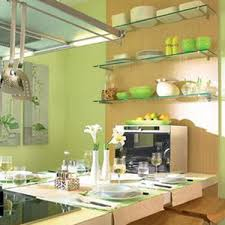Green Kitchen Accessories And Paint For Walls