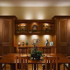 Figured Cherry Dinning Room Cabinet
