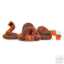 Hose Station Faucet Extender by Rhinoextreme 20 U0027 Sewer Hose Kit Camco 39867 Sewer Hoses