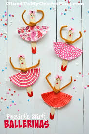 92 Popsicle Stick Ballerinas