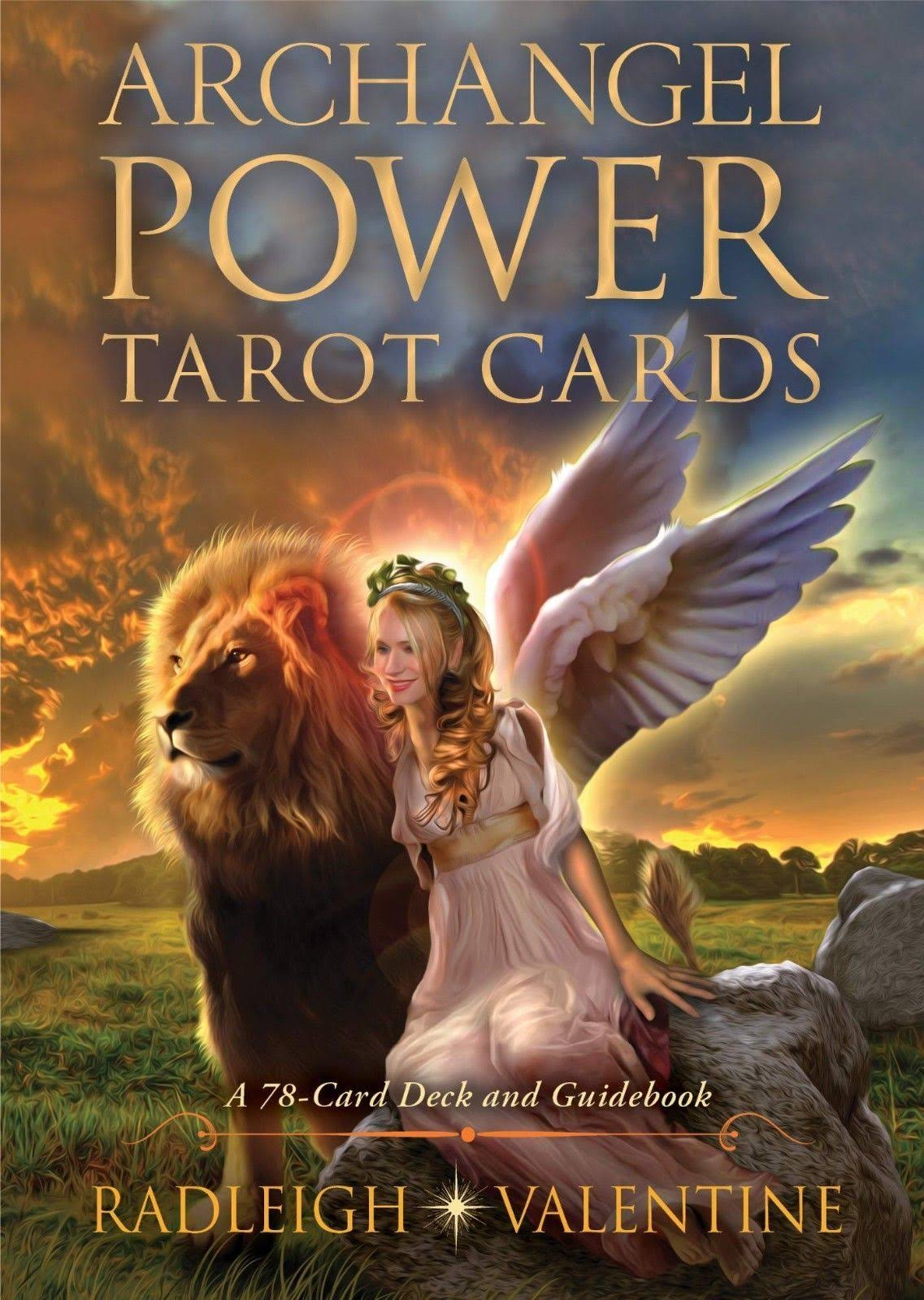 Archangel Power Tarot Cards: A 78-Card Deck and Guidebook - Radleigh Valentine