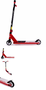 Kick Scooters 11331 Fuzion Scooter Pro X3 Red Tricks Freestyle Lightweight Kids Outdoor