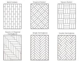 floor tile layout patterns carpet flooring ideas