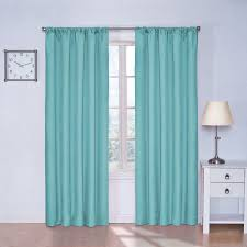 Navy And White Striped Curtains Amazon by Amazon Com Eclipse Kids Kendall Blackout Thermal Curtain Panel