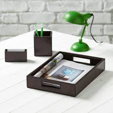 Leather Desk Blotter Australia by Personalised Norfolk Leather Desk Set By Ginger Rose