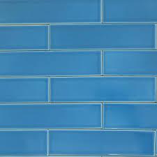 Vapor Light Blue Glass Subway Tile by Eco Friendly Tile Modwalls Colorful Modern Since Aqua Blue Brick