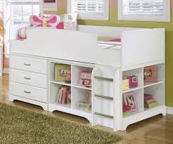 ashley furniture lulu loft bed with dresser and bookcase kids